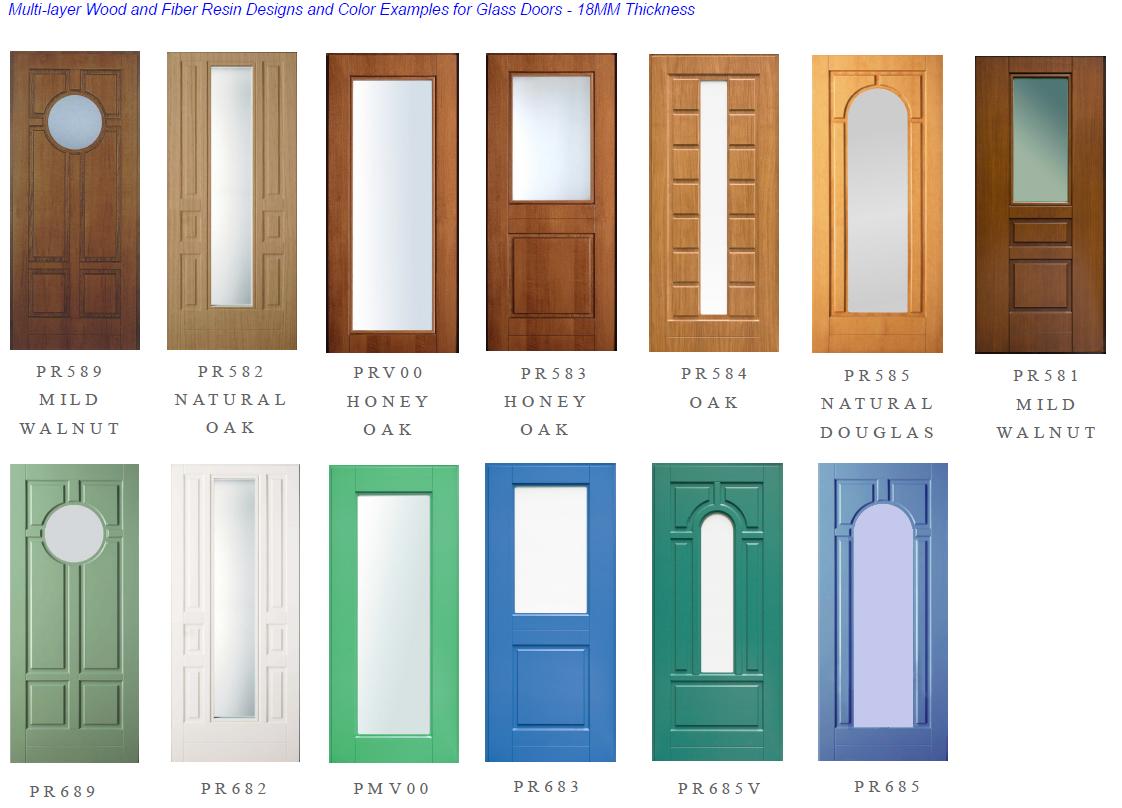 Glass Door Surface Design Ex&les  sc 1 st  American Master Door & Surface Panel Design Options \u2013 American Master Door