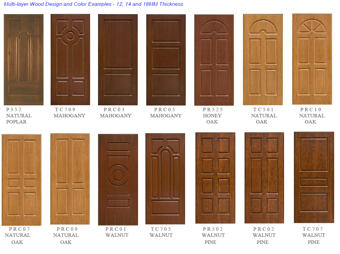 Surface Panel Design Options American Master Door